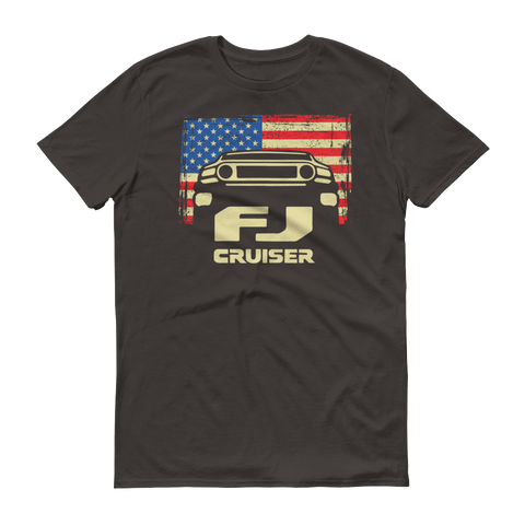 FJ Cruiser Patriotic short sleeve t-shirt