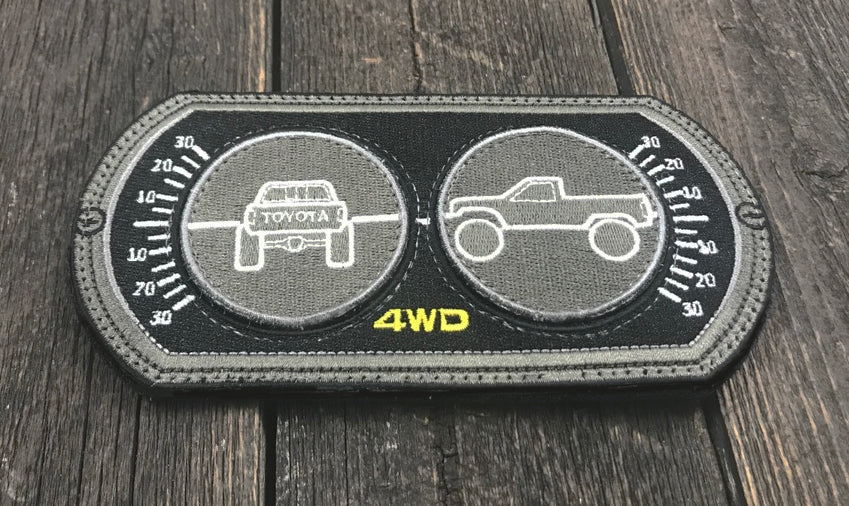 Toyota Truck Inclinometer Patch 3 pcs Set