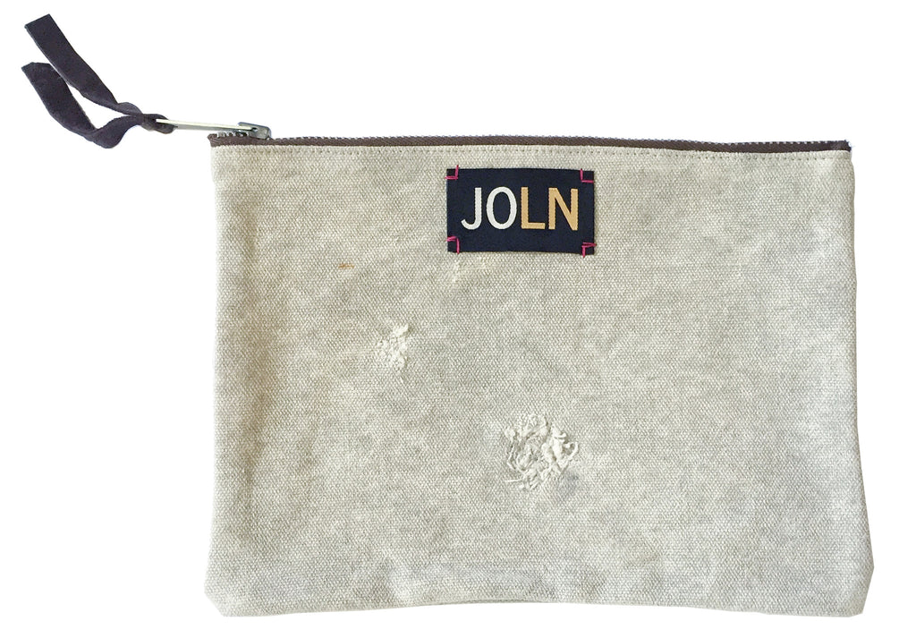 MIlitary Mail Pouch Vintage Canvas