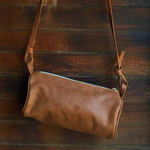 JOLN Ashland Saddle Leather Bag