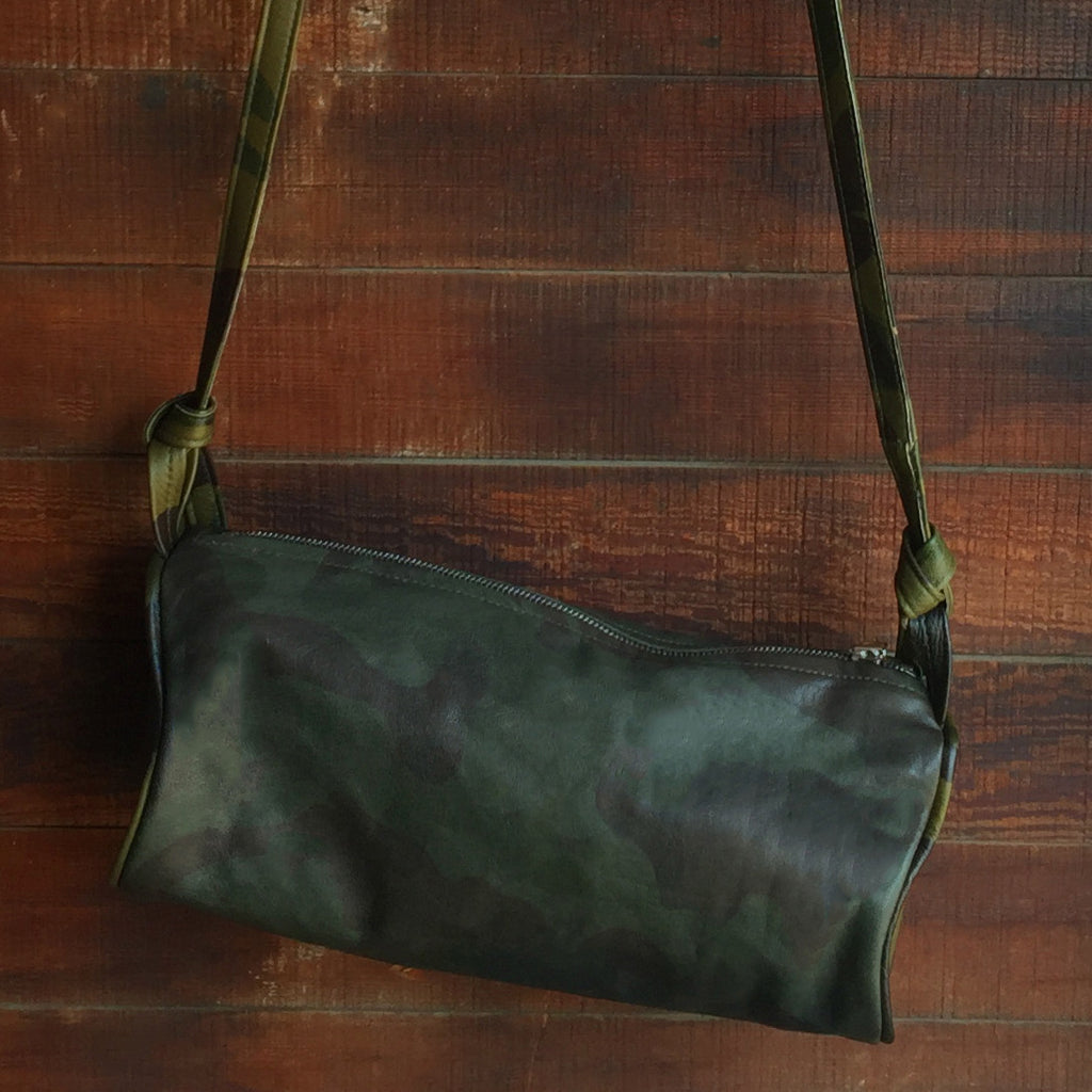 JOLN Ashland Olive Camo Leather Bag