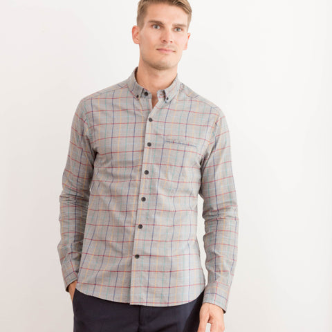 Cameron Shirt - Heather Grey