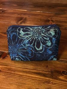 Essential Oil Bag - Shades of Blue Flowers