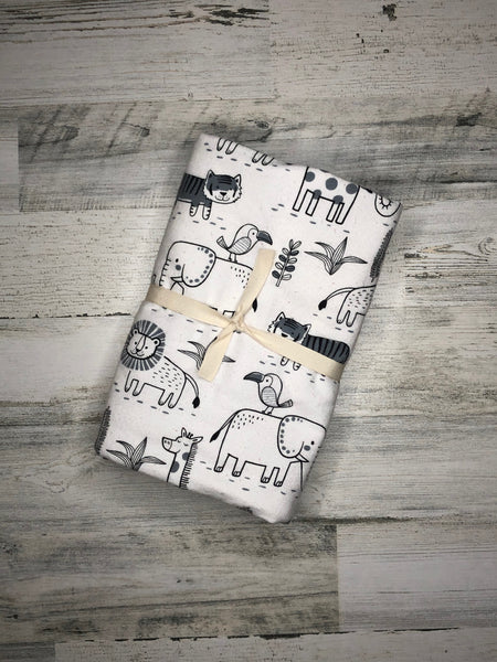 Animal Flannel Blanket
