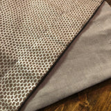 Accent Table Runner - Taupe/Metallic Snake Skin