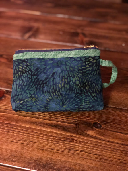 Essential Oil Bag - Navy/Green
