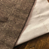 Accent Table Runner - Brown Swirls