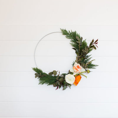 'Tis the season for making - floral Christmas wreaths