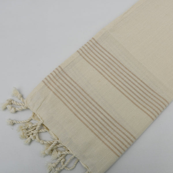 Baby Turkish Towel - Natural Stripe