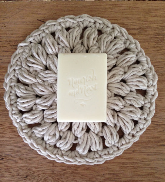 Bath Gift Pack - Nourishing Body Bar and Handcrafted Washcloth