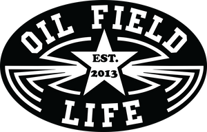 Luckenbach OFL Hard Hat Sticker - Black