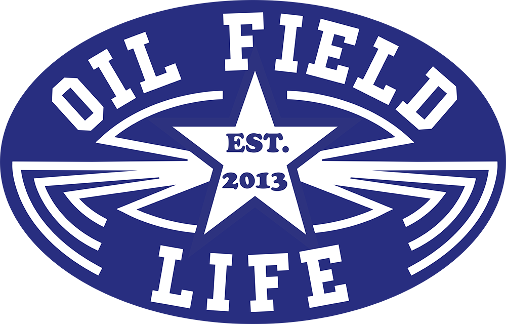 Luckenbach OFL Hard Hat Sticker - Blue