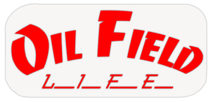 Oil Field Life Red Decal (6x3.5)