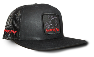 Black on Black SP Patch Cap