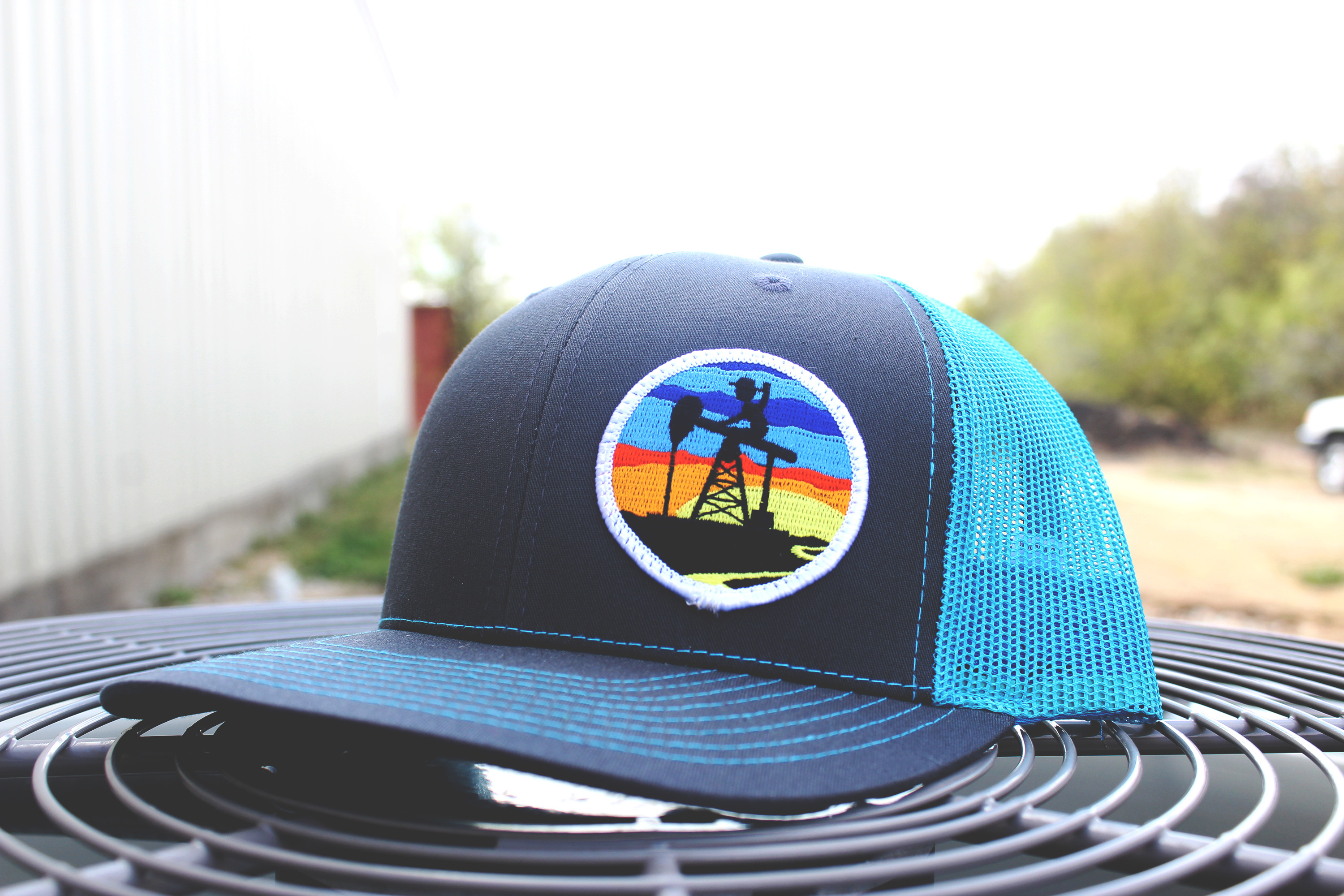 Blue Sunset Patch