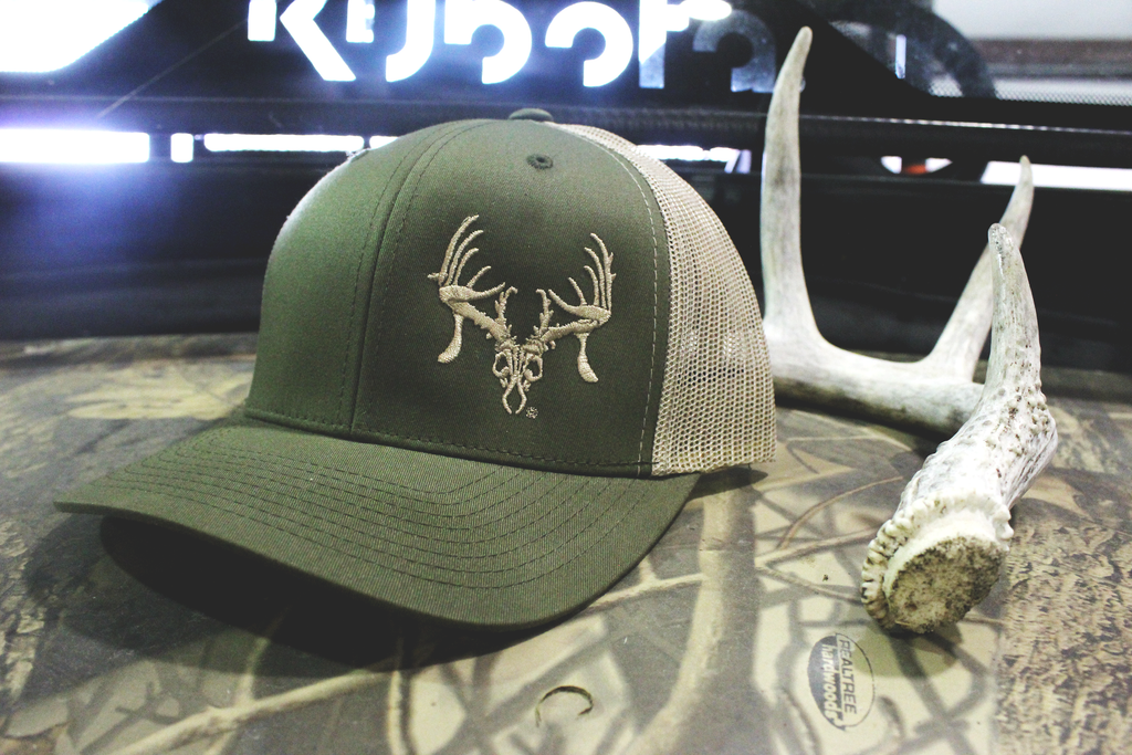 Moss/Khaki Texas Trophy Hunter Assoc.® Trucker Hat