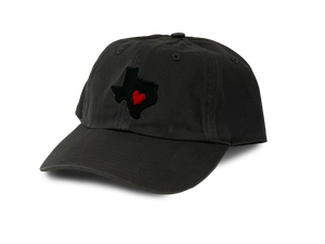 Texas Heart Dad Hat