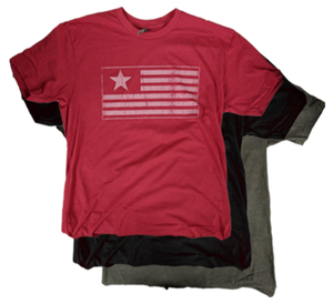 James Long Flag Shirt