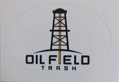 OFT Rig Hardhat Sticker