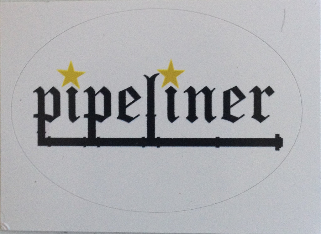 Pipeliner Hardhat Sticker
