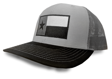 Black Tri Color TX Flag