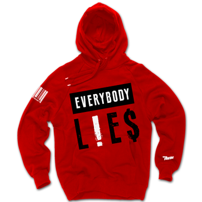 Everybody Lies Cherry Hoodie