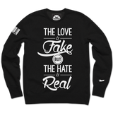 Fake/Real Crewneck