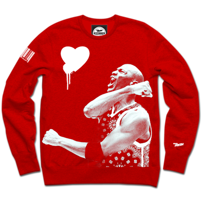 For The Love : 3 Alarm Crewneck