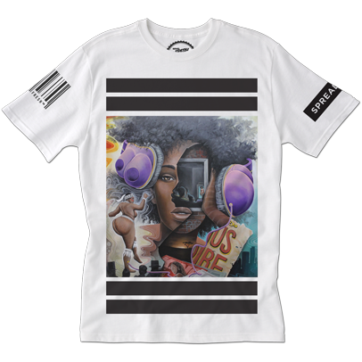 ServedFresh™ + BK The Artist Collaboration: 'The Ghost of Hottentot Venus' Tee