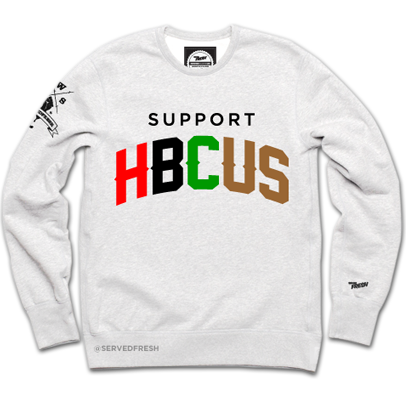 Support HBCUS Crewneck