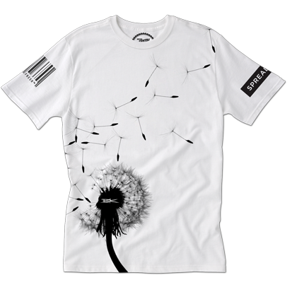 ServedFresh™ + BK The Artist Collaboration: 'Living Wishes' Tee