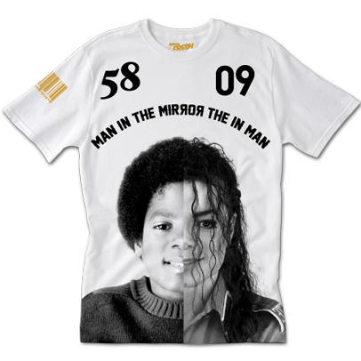 Man in the Mirror Tee