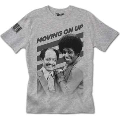 Moving On Up Tee