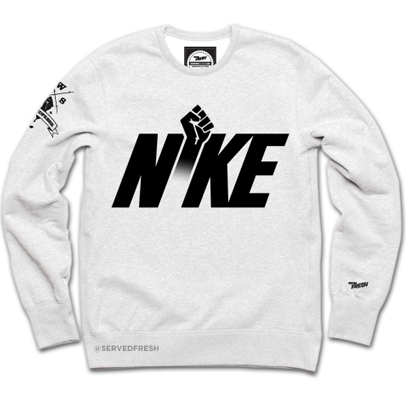 Power Crewneck (White)