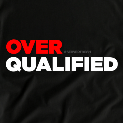 0d0a815c7a2d9 OverQualified Tee