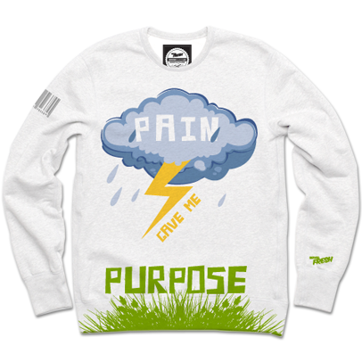 Pain/Purpose Spring Crewneck