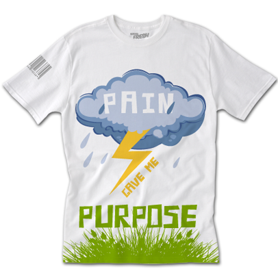Pain/Purpose Spring Tee