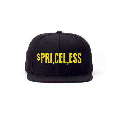 Priceless Snapback Hat