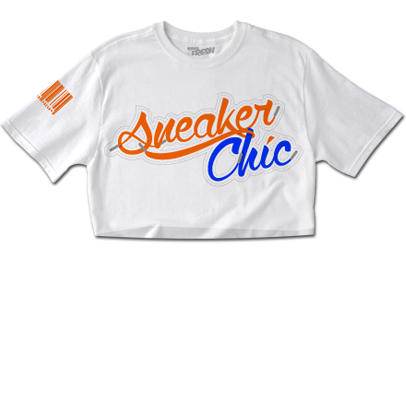 SneakerChic™ Citrus + Blueberry CropTop