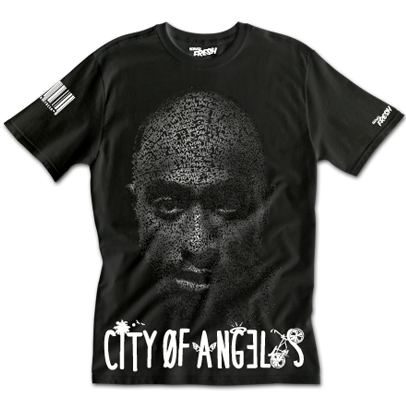 Krazy - Tupac Blackberry Shirt