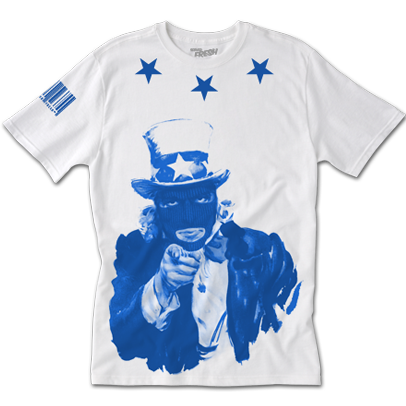 'The Heist' Blueberry Tee