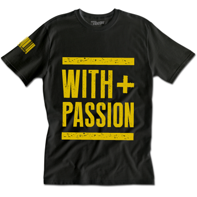 With + Passion Tee