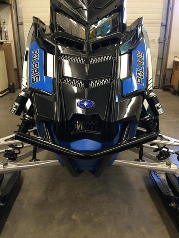 POLARIS PRO AXYS EXO FRONT BUMPER - B&M FABRICATIONS