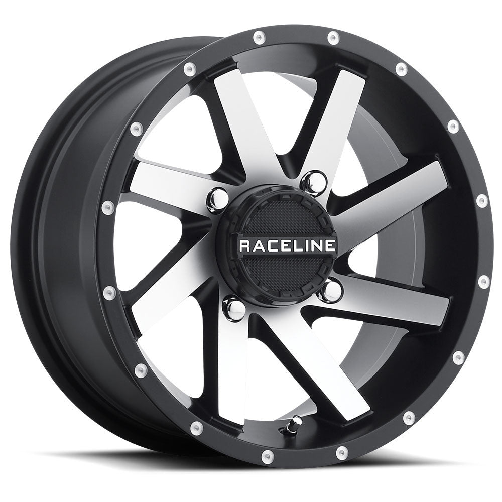 82 TWIST BLACK WHEEL - RACELINE WHEELS - SIKK RIDES.COM