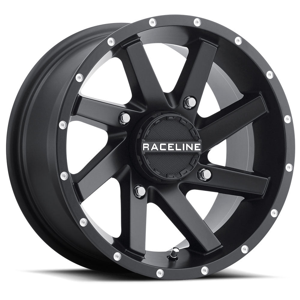 82B TWIST BLACK WHEEL - RACELINE WHEELS - SIKK RIDES.COM