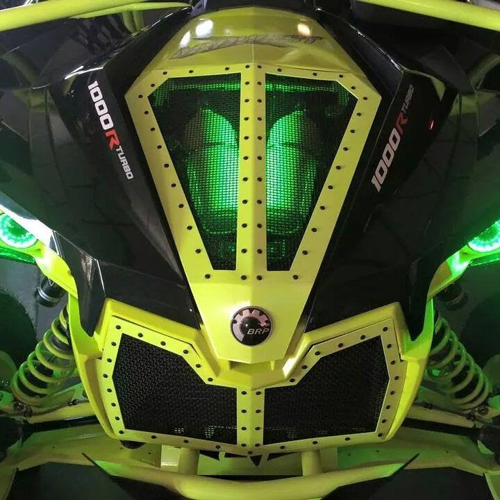 CAN-AM MAVERICK HOOD/GRILL COMBO - ROGUE OFFROAD - SIKK RIDES.COM