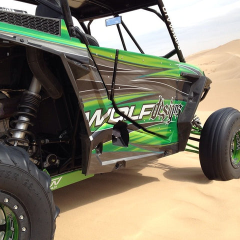 UTV CUSTOM 2 SEATER WRAPS - WOLF DESIGNS