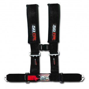 "3"" 4 POINT HARNESS SEAT BELT - 50 CAL RACING - SIKK RIDES.COM"