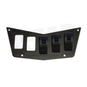 5 SWITCH DASH PANEL - 50 CAL RACING