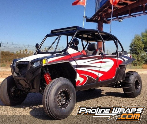 POLARIS XP 4  900 GRAPHICS KIT - PROLINE WRAPS